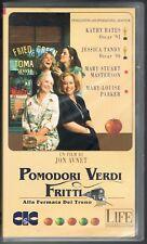 POMODORI VERDI FRITTI - AVNET - BATES - TANDY -  VHS