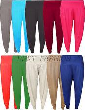 donna pantaloni harem ali baba lunghi LARGO leggings taglie forti 8-26