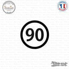 Sticker Département 90 Territoire de Belfort Bourgogne Franche Comté Belfort