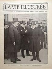 LA VIE ILLUSTREE 1906 N 390 LA JOURNEE DE COURRIERES AU CONCOURS HIPPIQUE