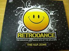 RETRODANCE DANCE HITS 80 & 90 2 CD SNAP SPAGNA OFF SANDY MARTON RYAN PARIS O.K.
