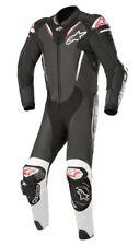 Alpinestars Atem Traje de V3-Negro/Blanco (12) 1 de una pieza de cuero moto traje ZQ