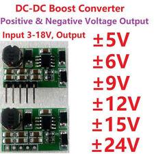 DC Boost Step-up Volt Converter Dual Output ±5V ±9V ±12V ±15V ±24V Power Supply