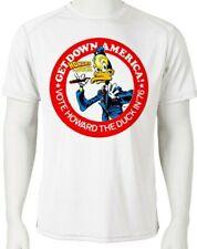 799484c00 Howard Duck Dri Fit graphic Tshirt moisture wick SPF retro comic book sport  tee