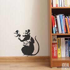 Banksy Radar Rat Stencil Reusable Plastic Art Craft Painting Decorating Stencils