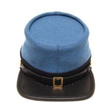 Civil War Confederate Infantry officers kepi, SkyBlue with black band Kepi Hat