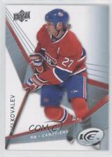 2008-09 Upper Deck Ice #2 Alex Kovalev Montreal Canadiens Hockey Card