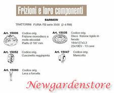 Frizione disco manicotto leva cuscinetto trattorino FURIA serie 3500 BARBIERI