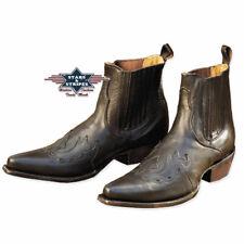Bottines WB-08 Stars & Stripes boots western noir HOMME/FEMME