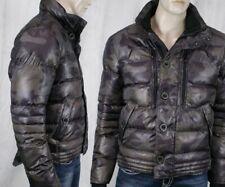 WELLENSTEYN USA men's STARDUST puffy camouflage brown winter Jacket coat STAD466
