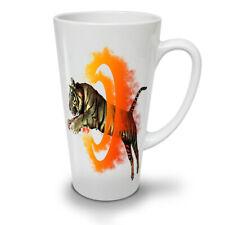 Tiger Portal Cool Animal NEW White Tea Coffee Latte Mug 12 17 oz | Wellcoda