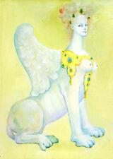 Leonor Fini Sphinx canvas print giclee 8X12&12X17 art poster reproduction
