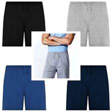 Bermuda unisex con bolsillos laterales y cinturilla elástica. 100% Algodon