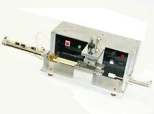 PRINT-RITE AUTOMATED FOAM STUFFING MACHINE SMC CYLINDER OMRON CPM1A CONTROL