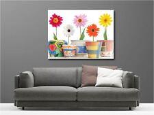 Quadro dipinti decocrazione in kit Vaso a Fiori ref 3165970