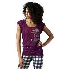Women's Reebok Yoga New York Training V-Neck Tank Top Vest Sleeveless Shirt