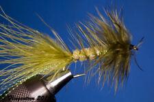 Fliegentom Streamer 3 pieces Wooley Bugger olive