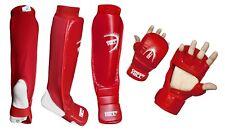 Immaf approuvé Shin Instep/Gant MMA Combat Leg Foot Guards Muay Thai Kick Boxing