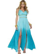 Aphrodite Greek Goddess Roman Toga Sexy Womens Fancy Dress Halloween Costume S-L