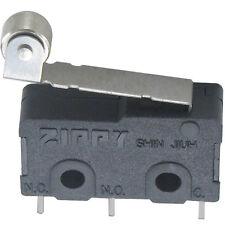 Miniatur Mikroschalter Zippy 5AAC@250VAC Printanschlüsse Rollenhebel Endschalter