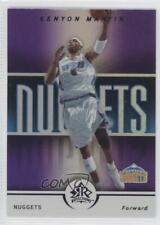 2005-06 Reflections Purple #26 Kenyon Martin Denver Nuggets Basketball Card