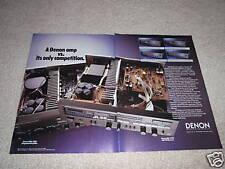 Denon PMA-900v,95vr,75vr,55vr Receiver AD von 1987