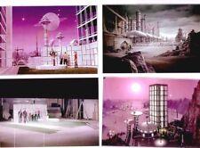 4 STAR TREK special FX & behind the scenes 8x10 color