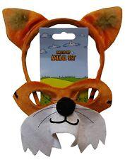 Fantastic Mr Fox Book week mask and ears. Fox Mask and Headband. Cute!