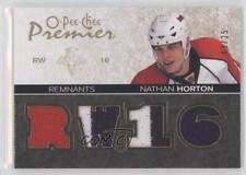 2007 O-Pee-Chee Premier Remnants Quad #PR-NH Nathan Horton Florida Panthers Card