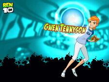 Ben 10 Gwen Tennyson Cartoon TV Series Art Huge Print POSTER Affiche