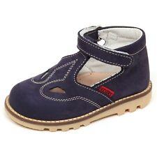 E6372 sandalo bimbo blu KICKERS B. TUPY scarpe shoe baby boy HxDMY5