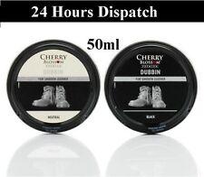 Cherry Blossom Dubbin Clear Black Tin Waterproofs Leather Shoe & Boot Wax 50ml