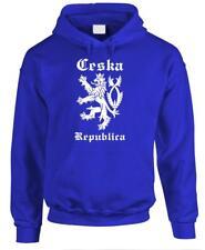 CESKA - Czech Republic Lion Rampant Funny - Fleece Pullover Hoodie