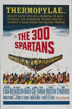 The 300 Spartans Richard Egan vintage movie poster #21