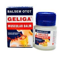 10gr 20gr 40gr Geliga Muscular Balm Neck Muscle Pain Relief Balsem Otot Geliga