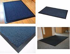 Non-Slip Barrier Mat Runner Highly Absorbent Stop Dirt and Moisture Mats Blue