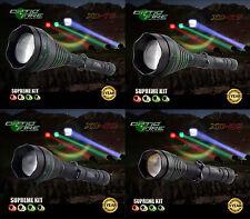 Opticfire® XC 75 67 50 38 LED Supreme hunting torch light lamp lamping kit - T67