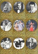 JAMES BOND 50TH ANV. 2 U PICK PARALLEL GOLD PRISMATIC INSERT CARDS 5 FOR $4.99