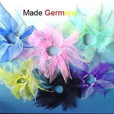 Haargummi XL Haarband Zopfband  Zopfgummi Chiffon  Stoff 15cm Deutschland