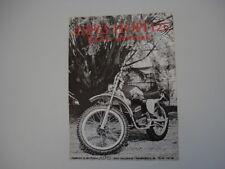 advertising Pubblicità 1973 MOTO ASPES HOPI 125 RGE ELETTRONIC