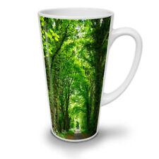 VERDE foresta strada Nuovo White Tea Tazza Da Caffè Latte Macchiato 12 17 OZ (ca. 481.93 g)   wellcoda
