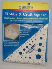 Craft & Hobby Square ruler gauge multi tool   #1123