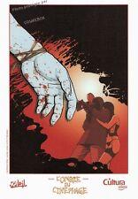 Ex libris L'OMBRE du CINEPHAGE affiche BD Gaudin & Gnoni offset Soleil thriller