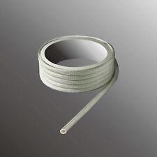 Glasfaser Schlauch Glasseide Isolierschlauch 450° Ø 0,5 - 20mm Glasfasergeflecht