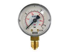 Senkrecht Manometer Ø 40, 50, 63 mm auch für Vakuum Druckluft Manometer