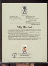 #3330 55c Billy Mitchell  USPS #9926 Souvenir Page