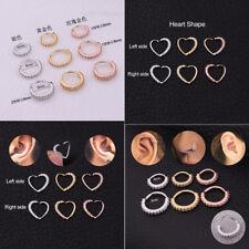 Nose Hoop Ring Piercing Rook Helix Lip Ring Ear Nose Eyebrow Cartilage Earrings