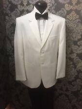 White Tuxedo Mystique jacket by Jean Yves