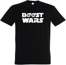 """T-Shirt """"Boost Wars"""" S - 5XL Tuning Turbo Auto PKW GTI Golf VW JB Audi BMW PS"""