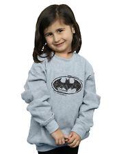 DC Comics Bambine e ragazze Batman Sketch Logo Felpa